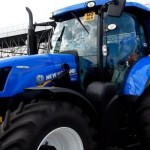 New Holland tractor first working with Biomethane