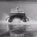 An amphibious vehicle of the 60's