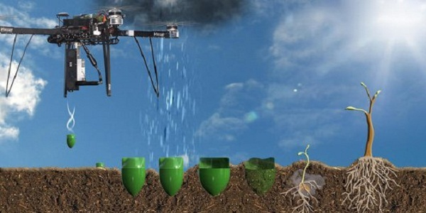 Drones to reforest the world