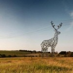 Pylons with brilliant designs
