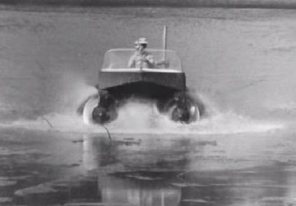 amphibious vehicle of the 60