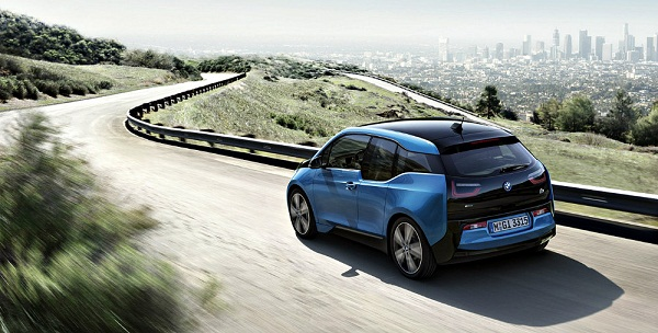 BMW i3 electric car improves its autonomy