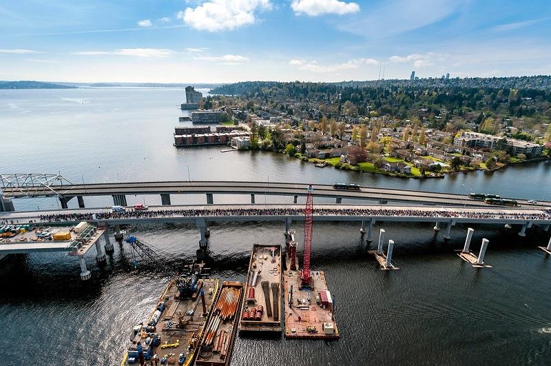 floating bridge